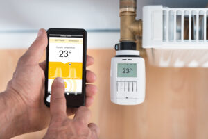 Smart Wifi Thermostat, Heating & Cooling Two