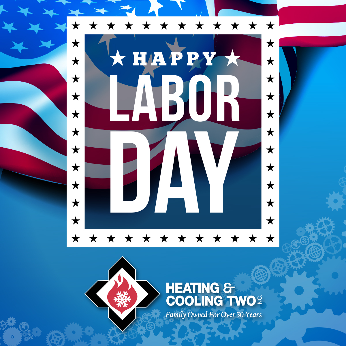 Happy Labor Day, Heating & Cooling Two, HeatCool2
