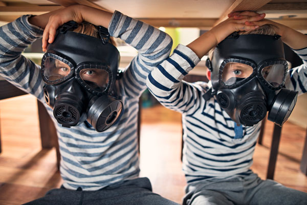 THE CAUSES OF INDOOR AIR POLLUTION